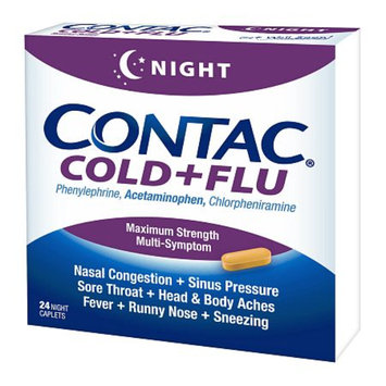 Contac Cold + Flu Maximum Strength Caplets