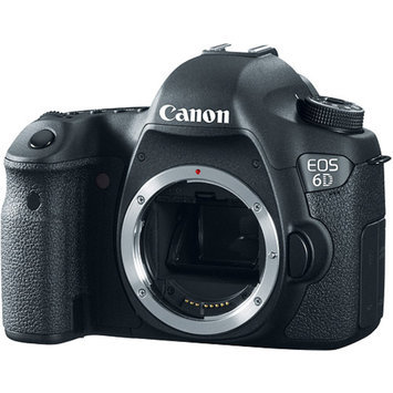 Canon EOS 6D 20.2MP Digital SLR Camera Body - Black