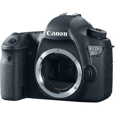 Canon EOS 6D 20.2MP Digital SLR Camera Body - Black