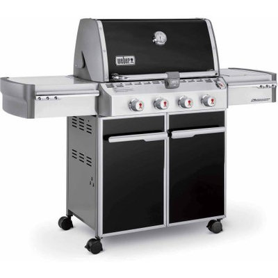 Weber Summit E-420 LP Gas Grill, Black