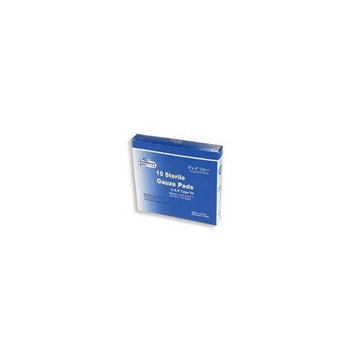 Preffered Plus Products Sterile Gauze Pads 4 Inches X 4 Inches - 10 Each