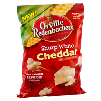 Orville Redenbacher's Sharp White Cheddar Cheese Gourmet Popcorn