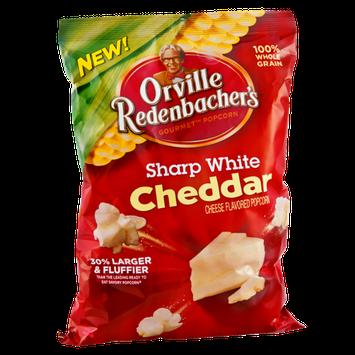 Orville Redenbacher's Sharp White Cheddar Cheese Gourmet Popcorn