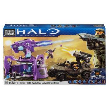 Mega Bloks Halo UNSC Rockethog vs Anti Aircraft Gun