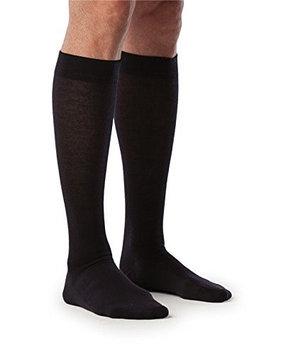 Sigvaris All Season Wool 242CXLM10 20-30mm. Hg Extra Large Long Mens Calf Navy