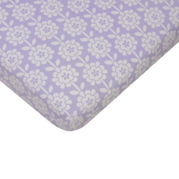 Sumersault Mix & Match Floral Crib Sheet