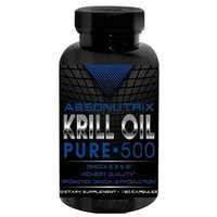 Absonutrix Krill Oil Pure 500mg Each Omega 3,6+9 - 120 SG
