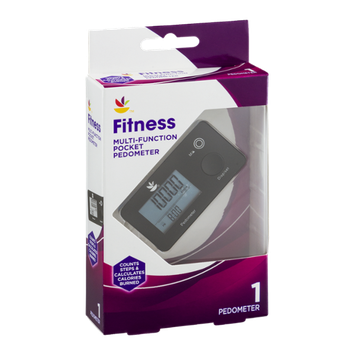 Ahold Fitness Multi-Function Pocket Pedometer