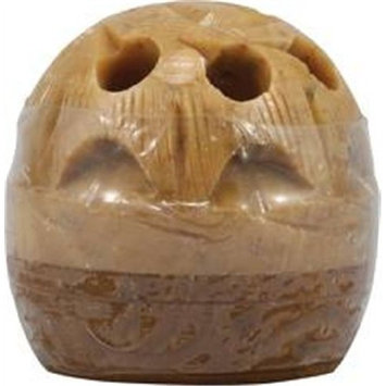 Yakshi Fragrances Royal Amber 1 Count (Solid in Carved Soapstone)