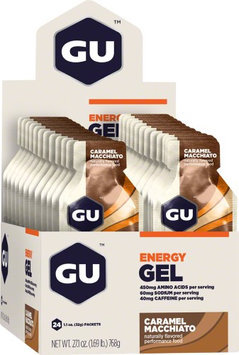 GU Energy Labs Energy Gel Caramel Macchiato 24 Packets
