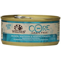 Wellness Natural Food for Pets Wellness CORE Natural Grain Free Wet Canned Cat Food, 5.5-Ounce Can (Pack of 24)