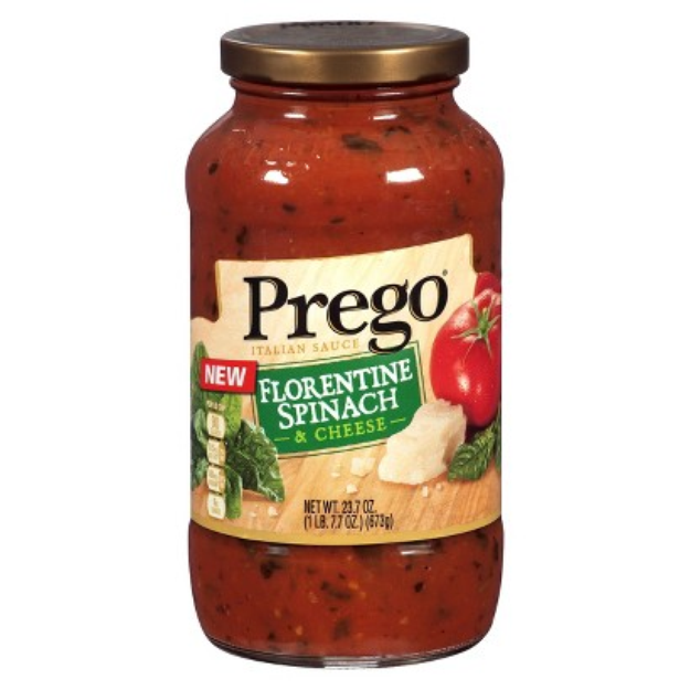 Campbell Soup Company Prego Florentine Spinach and Cheese Pasta Sauce 24oz