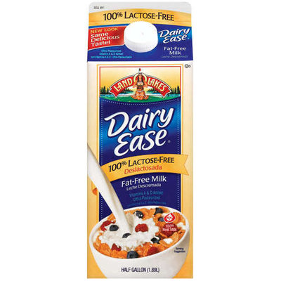 Land O'Lakes Dairy Ease Reduced Fat 100% Lactose-Free Milk