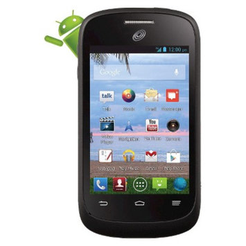 TracFone Android ZTE 665 Pre-Paid Cell Phone - Black