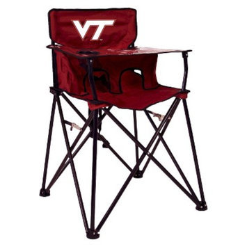 Ciao! Baby ciao! baby Virginia Tech Portable Highchair - Red