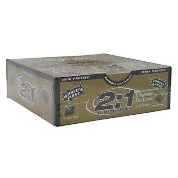 2 1 Protein Bar 2:1 Protein Bar Protein Bar Almond Caramel Crunch 12 Bars