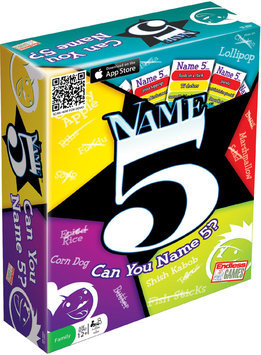 Endless Games, Inc. Name Five Party Game