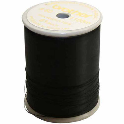 Brother Embroidery Thread, Black, 60 Weight