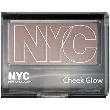 N.Y.C. New York Color NYC New York Color Cheek Glow Single Pan Blush Powder, Park Avenue Plum