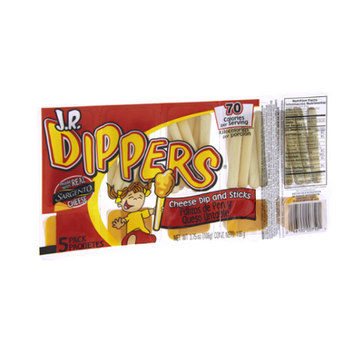 Sargento J.R. Dippers Cheese Dip and Sticks- 5 PK