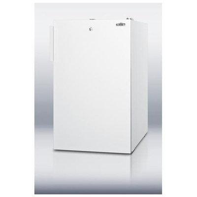 Summit CM411L 4.1 Cu. Ft. White Undercounter Compact Refrigerator