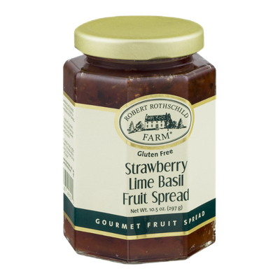 Robert Rothschild Farm Strawberry Lime Basil Fruit Spread