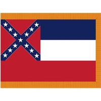 Annin Flag: Mississippi State Flag : 3' x 5'