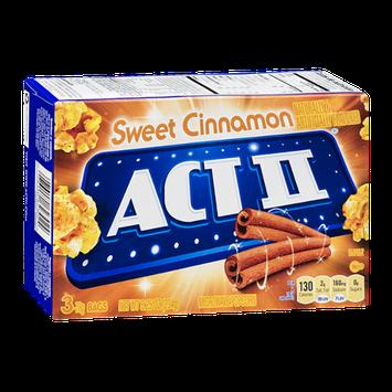 Act II Microwave Popcorn Sweet Cinnamon - 3 CT