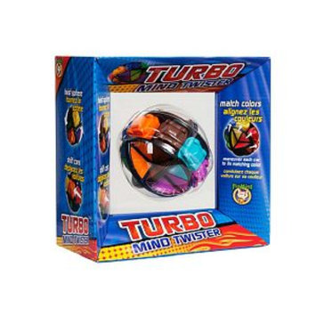 FoxMind Games Turbo Mind Twister Ages 7+, 1 ea