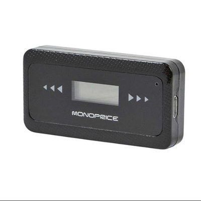Monoprice FM Transmitter w/ Optional Charging USB Port
