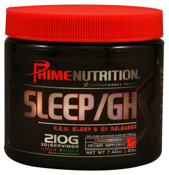 Prime Nutrition Performance Series Sleep/GH Fruit Punch - 30 Servings