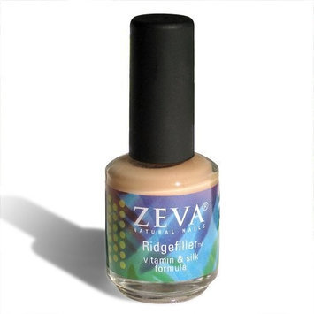 Zeva Natural Nails Zeva Ridgefiller - Vitamin and Silk Formula - Base Coat Treatment for Dry, Brittle or Ridged Nails - .5 Fl Oz / 15 Ml
