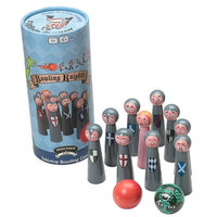 Front Porch Classics Bowling Knights Ages 5+, 1 ea