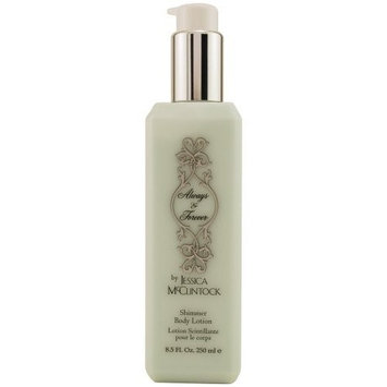 Always and Forever Shimmer Body Lotion for Women by Jessica Mcclintock, 8.5 Ounce