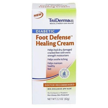 TriDerma Skincare Diabetic Foot Healing Cream - 1.7 oz
