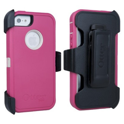 Otterbox Defender Boom Cell Phone Case for iPhone 5 - Pink (42656TGW)