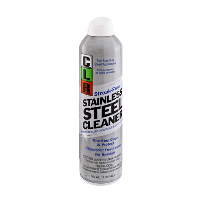 CLR Stainless Steel Cleaner Streak-Free