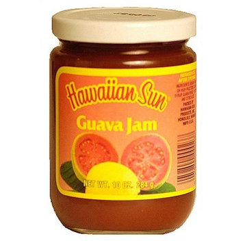Hawaiian Sun Guava Jam, 10-Ounce Jars (Pack of 4)