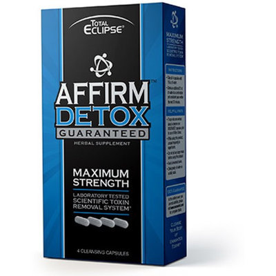 Affirm Detox Cleansing, 4 Caps by Total Eclipse