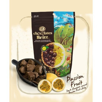 Cafe Britt Dark Chocolate Covered Passion Fruit