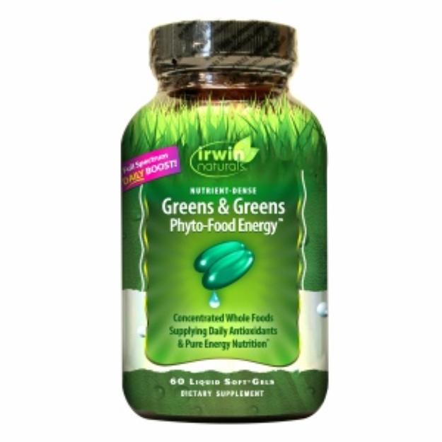 Irwin Naturals Greens & Greens Phyto-Food Energy