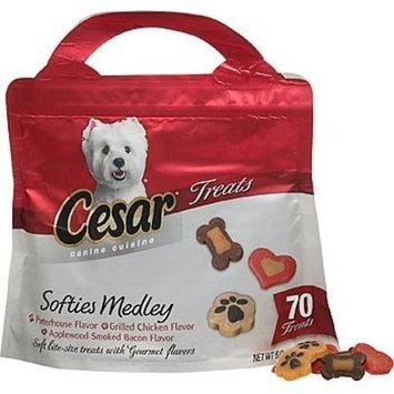 Cesar Canine Cuisine Softies Medley Trio Treats for Dog