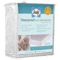 Waterproof Crib Mattress Pad - 2 Pack by Sealy