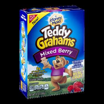 Teddy Grahams Graham Snacks Mixed Berry