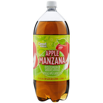 Cott Beverages Apple Manzana Soda, 67.6 fl oz