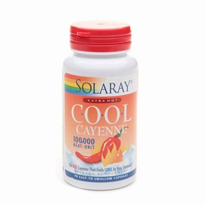 Solaray Extra Hot Cool Cayenne 600 mg