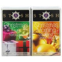 Stash Tea Company Christmas Teas Two Flavor Gift Set (Pack of 3)