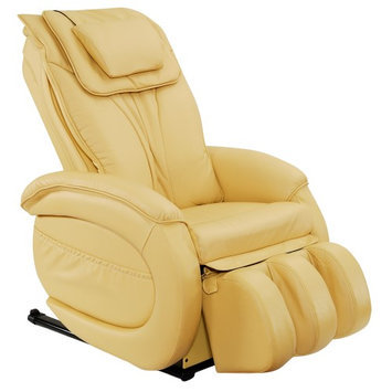 Infinite Therapeutics Infinity IT-9800 Leather Zero Gravity Reclining Massage Chair Upholstery: Butter