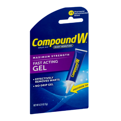 Compound W Wart Remover Fast Acting Gel