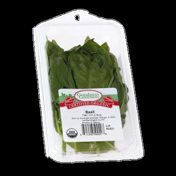 Goodness Greeness Basil Herbs - Organic